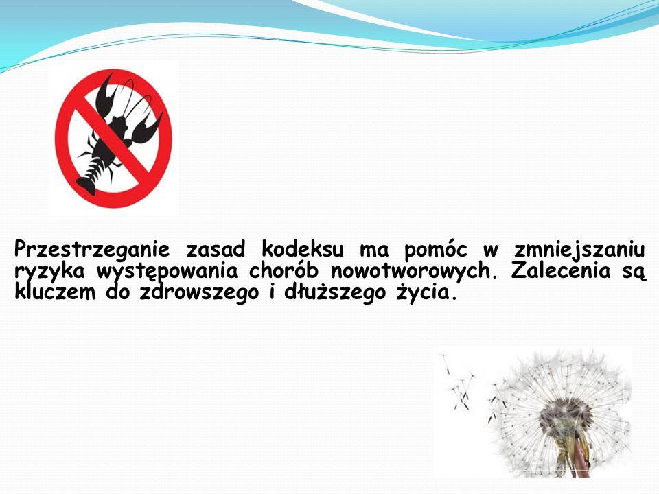 Europejski kodeks wali z rakiem jest to zbiór zasad, które mają wskazać odpowiedź na pytanie co robić by żyć zdrowo i nie chorować na raka.
