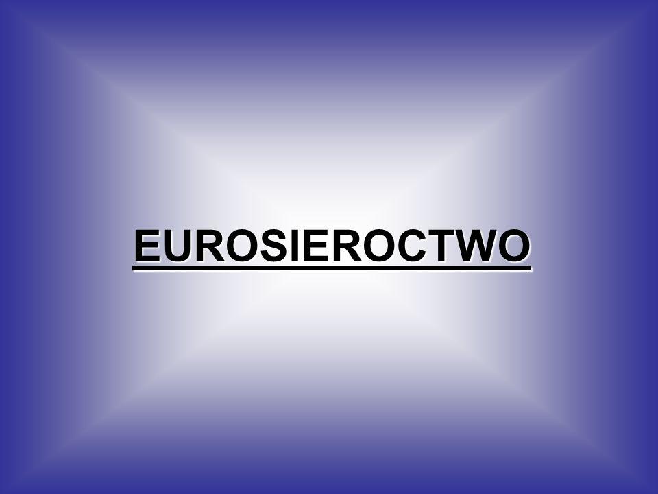 Eurosierota to dziecko, które wychowuje się bez co najmniej jednego rodzica, który wyjechał za granicę w celach zarobkowych.