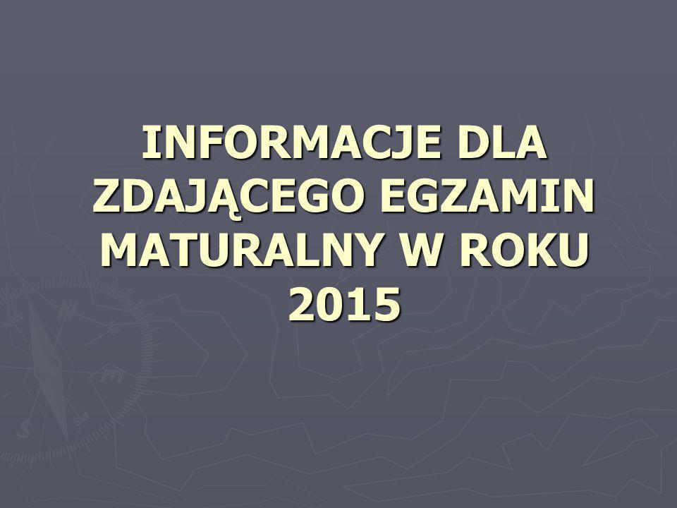 OPIS EGZAMINU OPIS EGZAMINU  Egzamin maturalny jest przeprowadzany jeden raz w ciągu roku szkolnego – w okresie od maja do września.