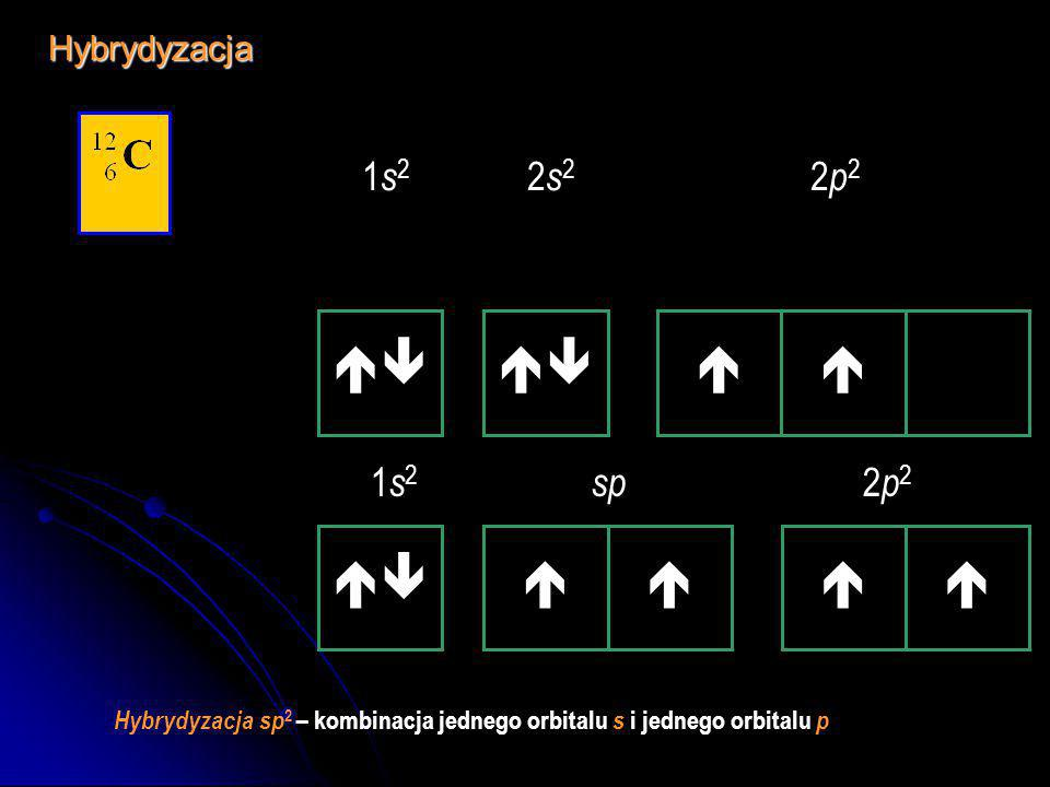  1 s 2 sp 2 2 p 1Hybrydyzacja