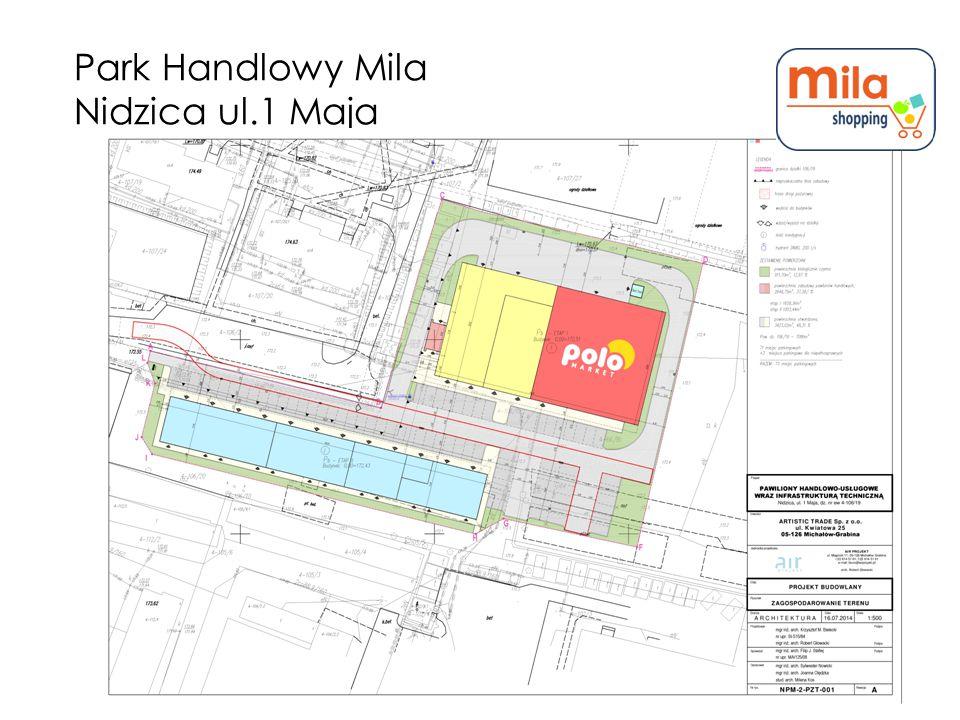 Park Handlowy Mila Nidzica ul.1 Maja