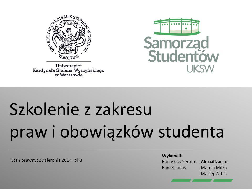 Decyzje w sprawie studiów § 5 § 6 Dziekan podejmuje decyzje we wszystkich sprawach związanych z przebiegiem studiów Studenta.