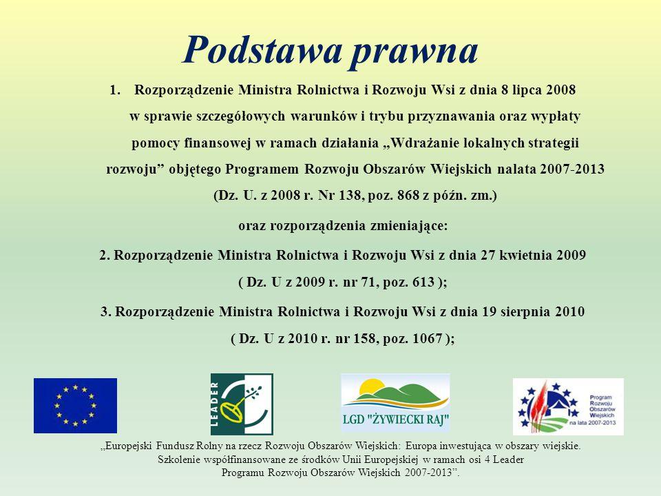 Rozliczenie projektu – wniosek o płatność: Załączniki ( m.