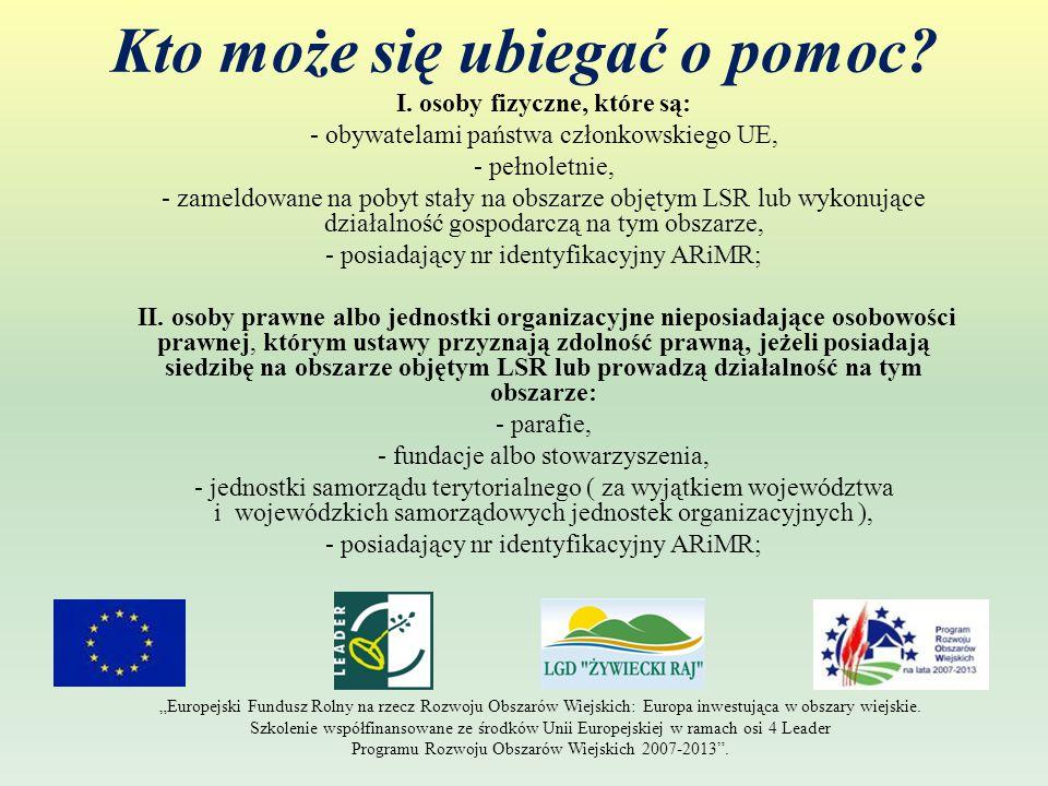 Umowa o dofinansowanie i najważniejsze zobowiązania beneficjenta z niej wynikające 1.