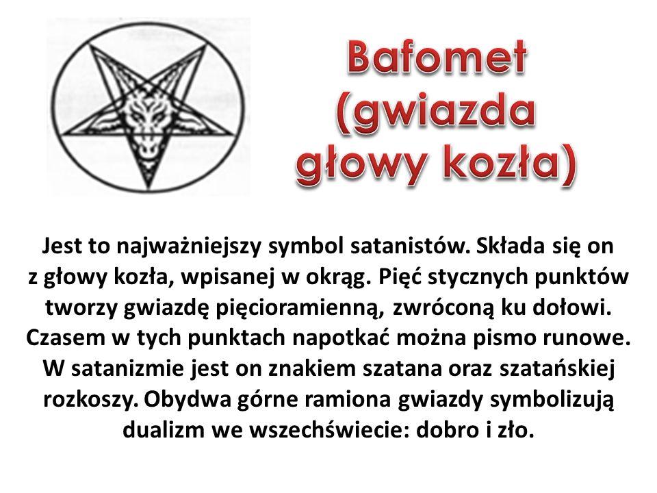 Jest to najważniejszy symbol satanistów.Składa się on z głowy kozła, wpisanej w okrąg.