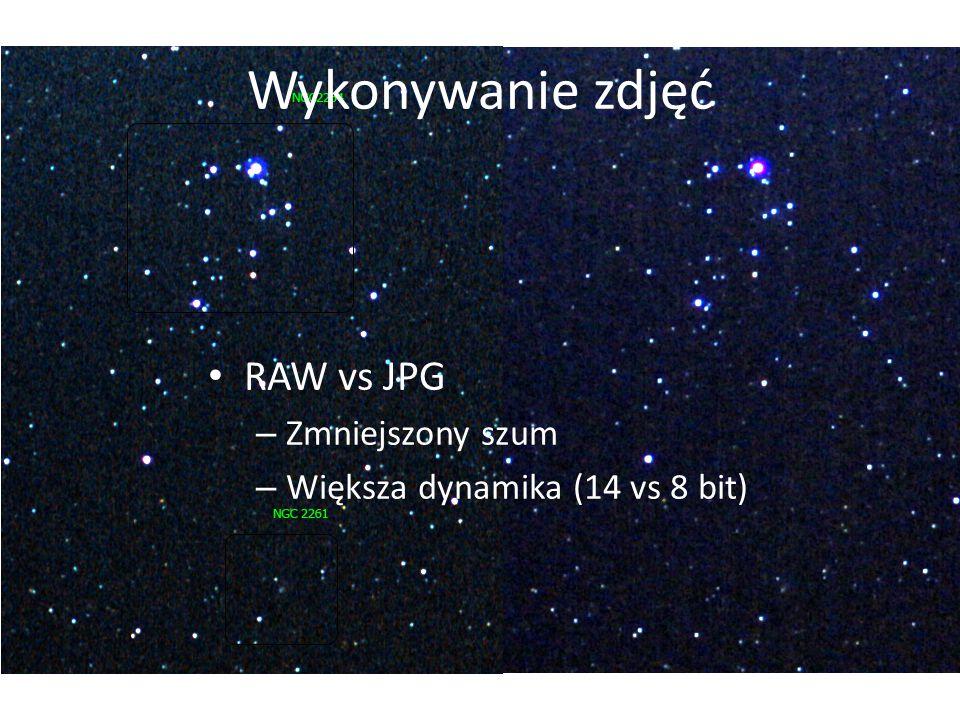 Wykonywanie zdjęć RAW vs JPG – Zmniejszony szum – Większa dynamika (14 vs 8 bit)