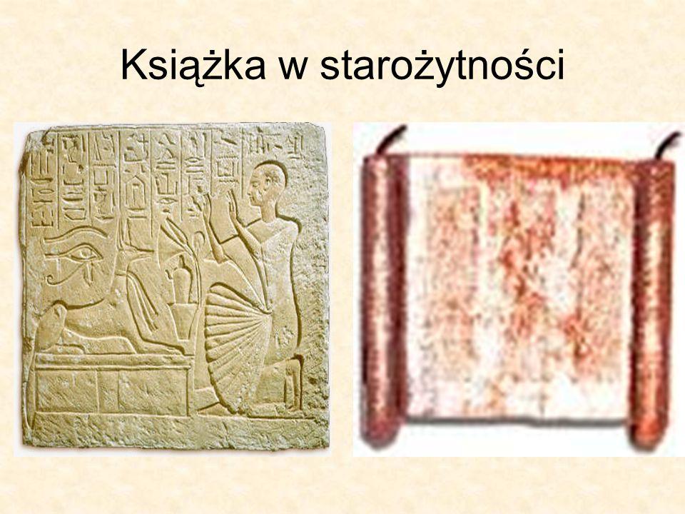 Książka w starożytności