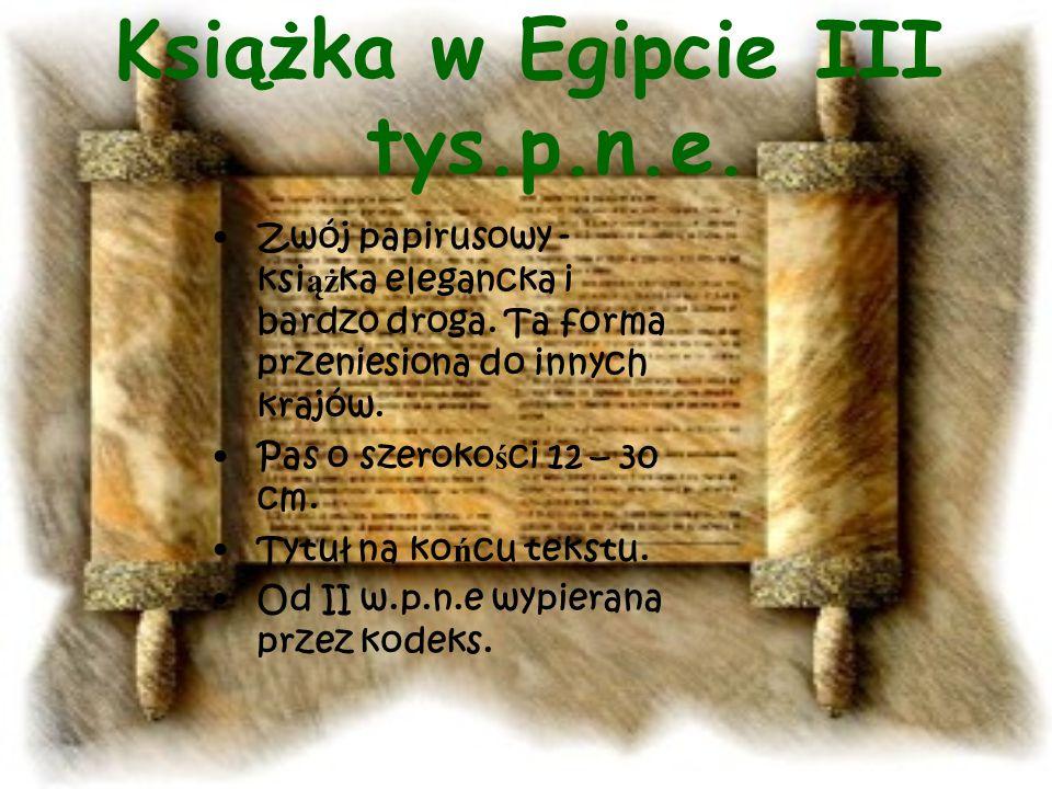 Pismo w starożytnej Grecji.
