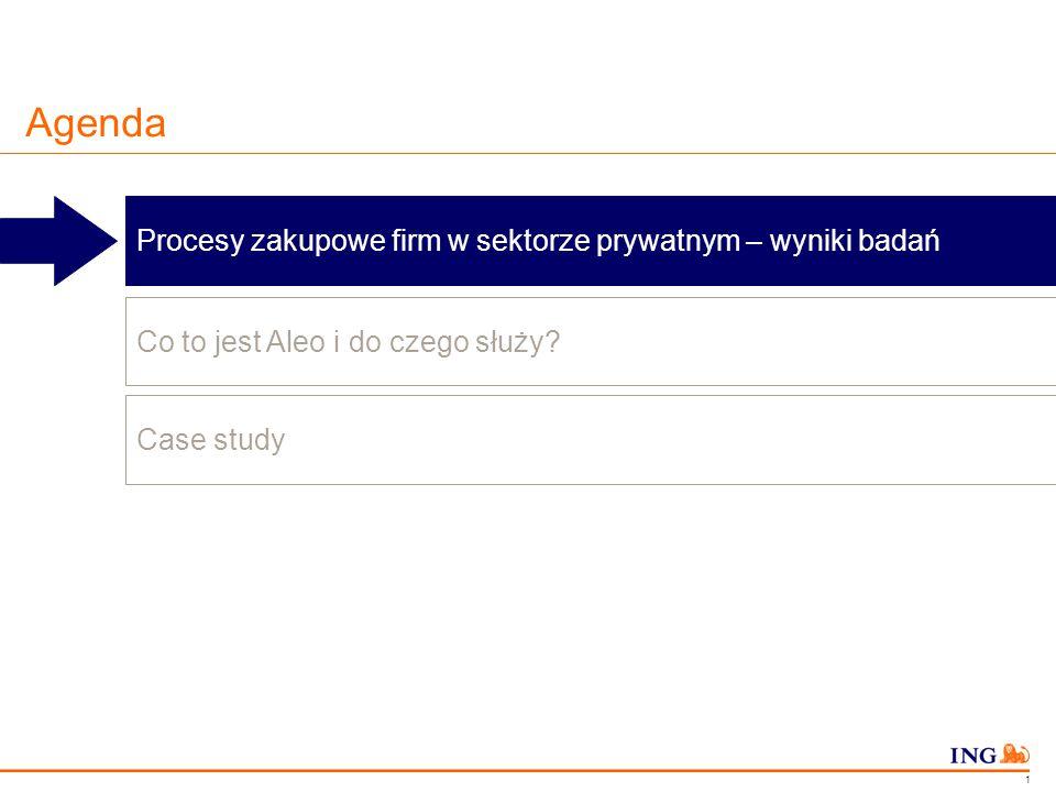 Do not put content in the Brand Signature area Poprzez Aleo.pl, ING Bank Śląski zdywersyfikował wykonwaców i obniżył jednorazowe koszty realizacji o ponad 440 tys.