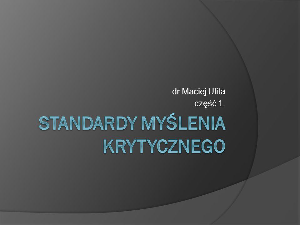 dr Maciej Ulita część 1.