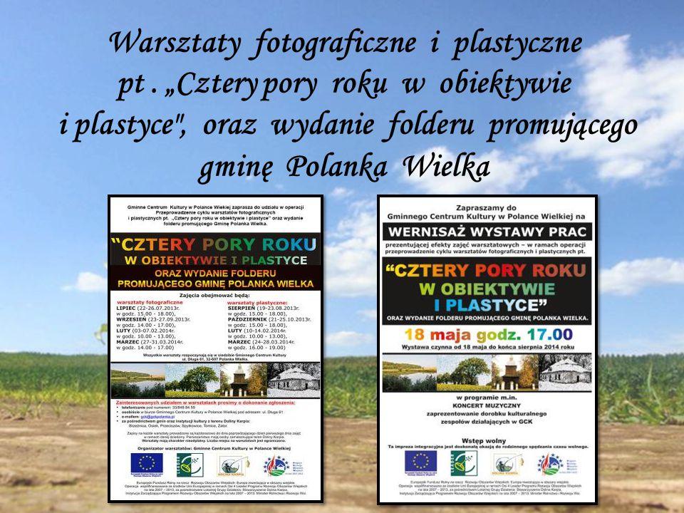 Warsztaty fotograficzne i plastyczne pt.