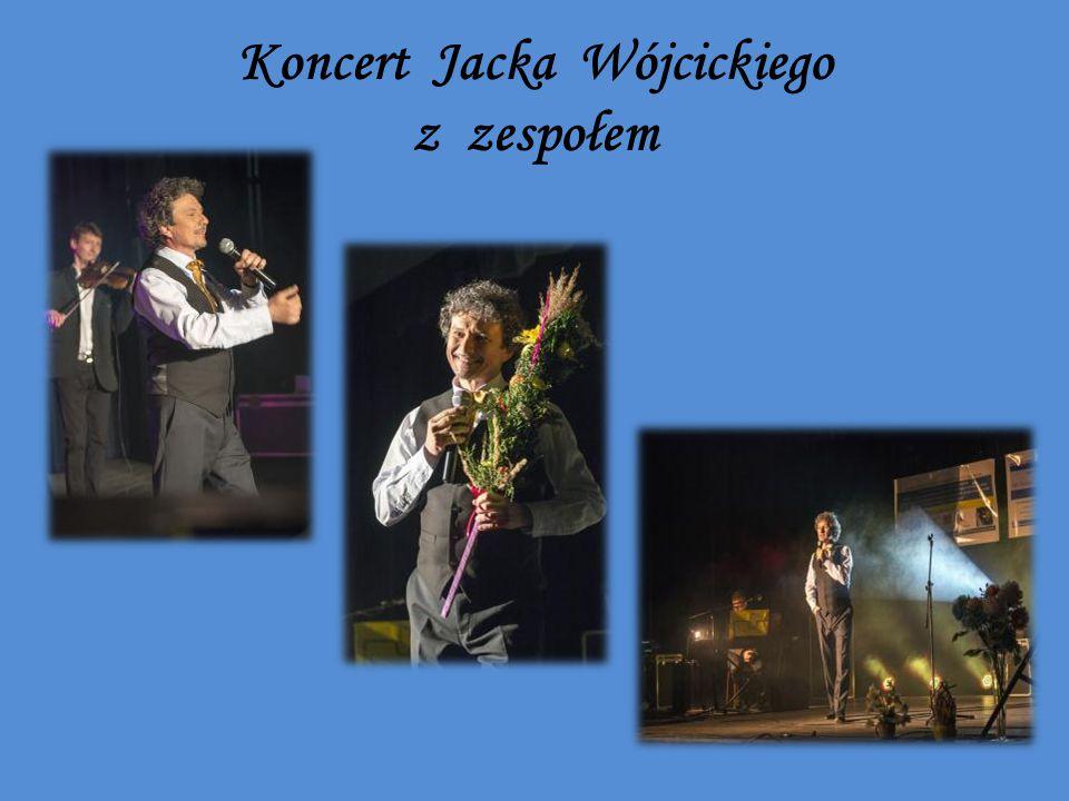 Koncert Jacka Wójcickiego z zespołem