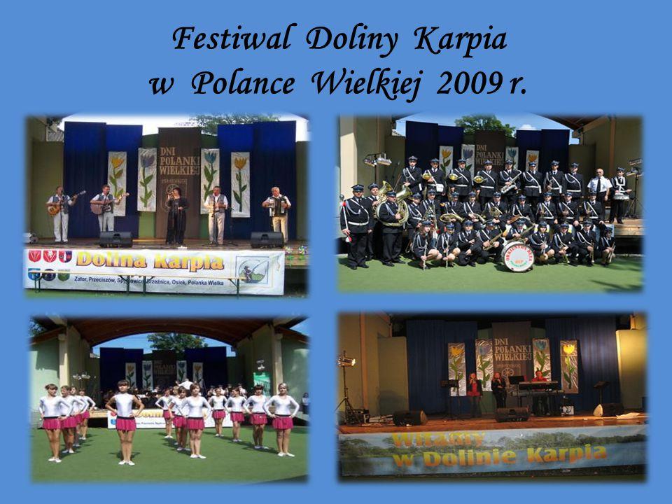Festiwal Doliny Karpia w Polance Wielkiej 2009 r.