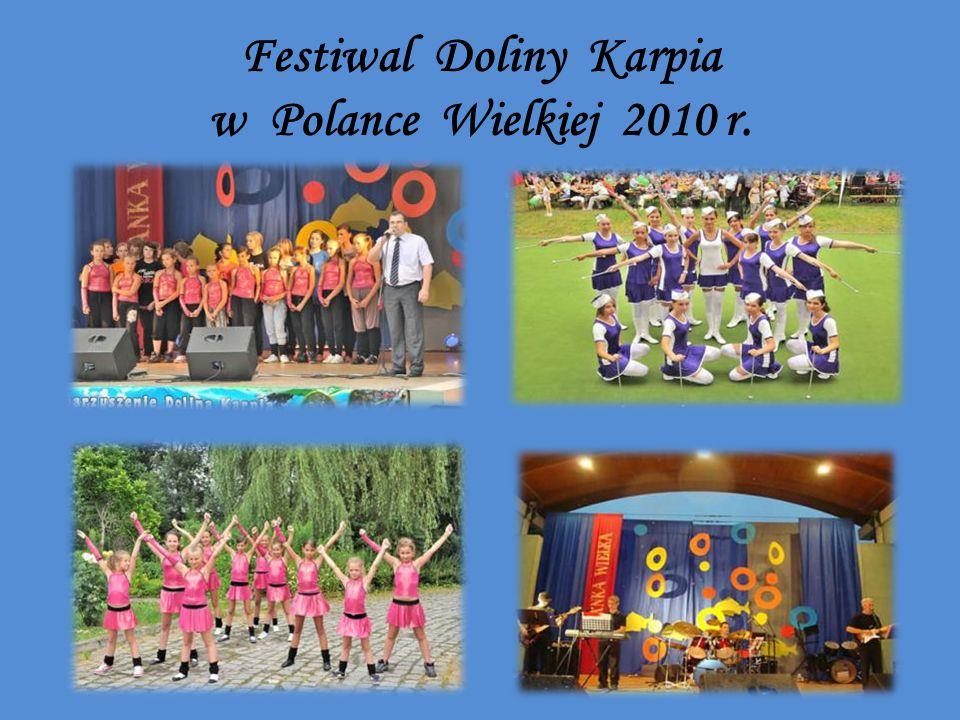 Festiwal Doliny Karpia w Polance Wielkiej 2010 r.