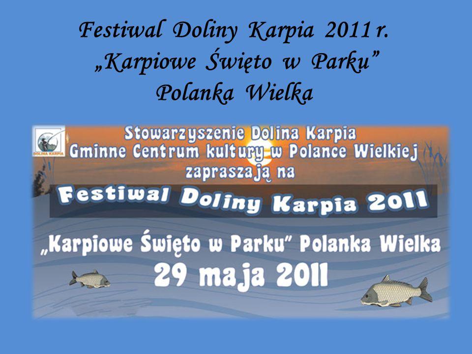 """Festiwal Doliny Karpia 2011 r. """"Karpiowe Święto w Parku Polanka Wielka"""