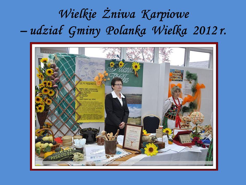 Wielkie Żniwa Karpiowe – udział Gminy Polanka Wielka 2012 r.