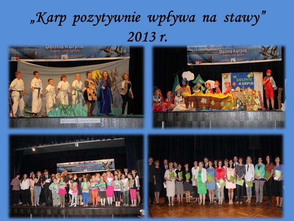 """""""Karp pozytywnie wpływa na stawy 2013 r."""