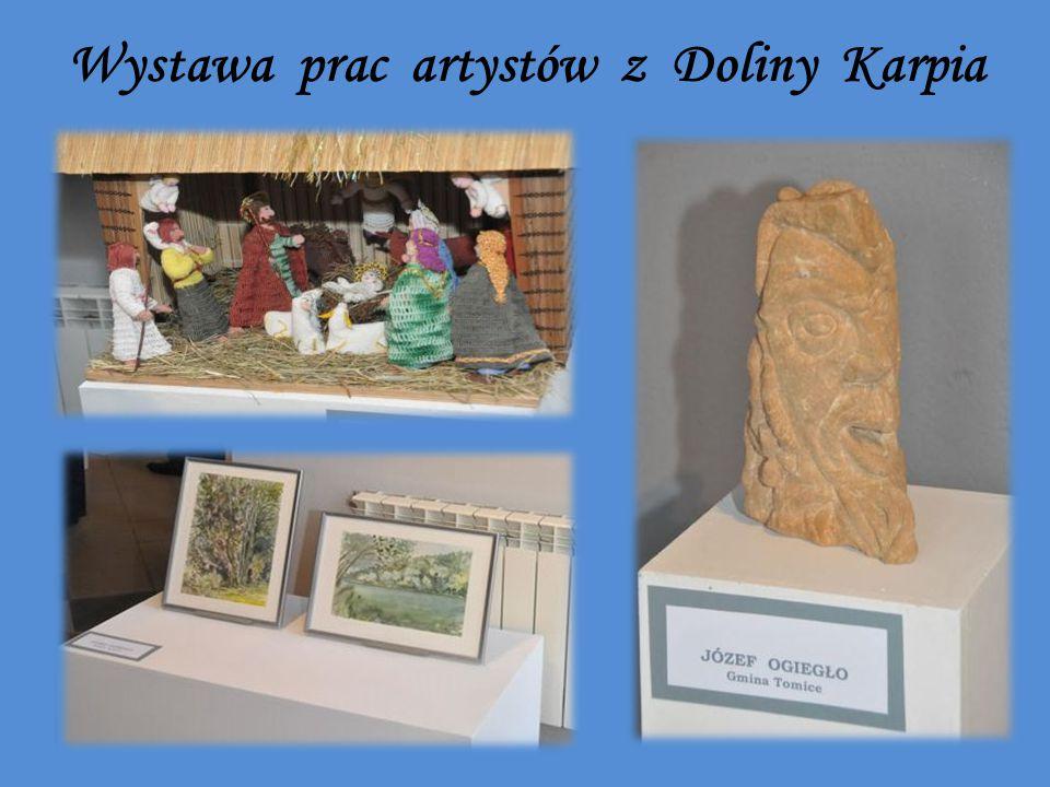 Wystawa prac artystów z Doliny Karpia