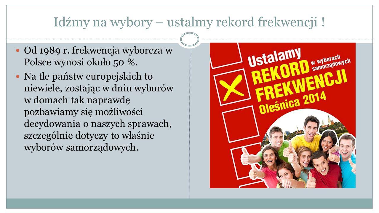 Wybory do Rady Powiatu Warto pamiętać, że - wbrew obiegowym opiniom - polski system proporcjonalny opiera się jednocześnie na głosowaniu osobistym.