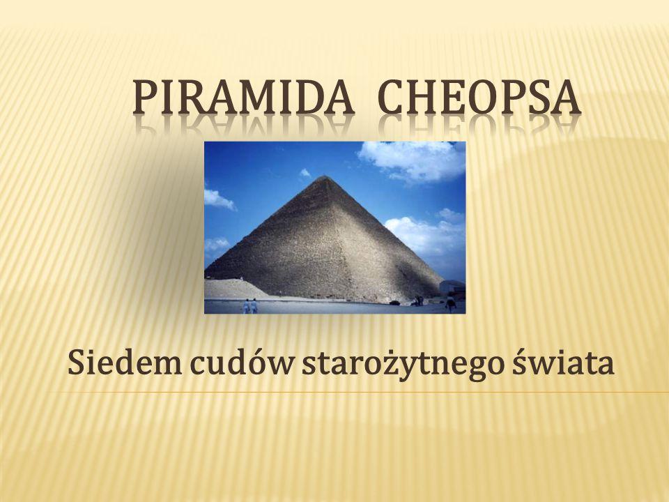 I.Gdzie się znajduję II. Piramida III. Zespół piramid IV.