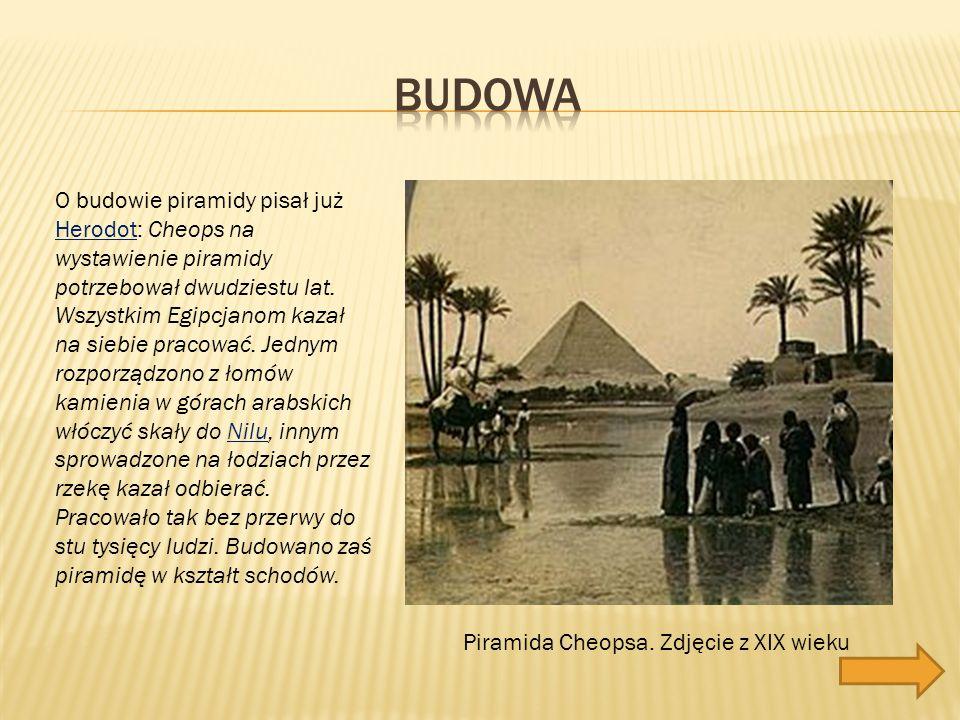 Piramida Cheopsa.