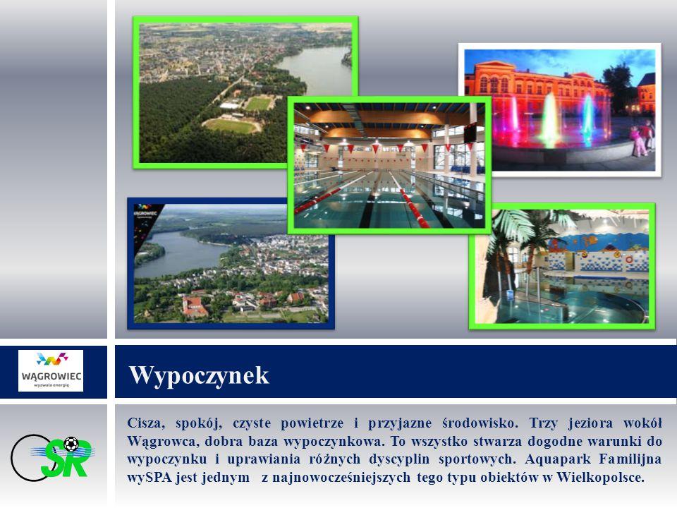 Cisza, spokój, czyste powietrze i przyjazne środowisko. Trzy jeziora wokół Wągrowca, dobra baza wypoczynkowa. To wszystko stwarza dogodne warunki do w