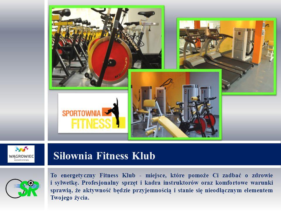 To energetyczny Fitness Klub - miejsce, które pomoże Ci zadbać o zdrowie i sylwetkę.