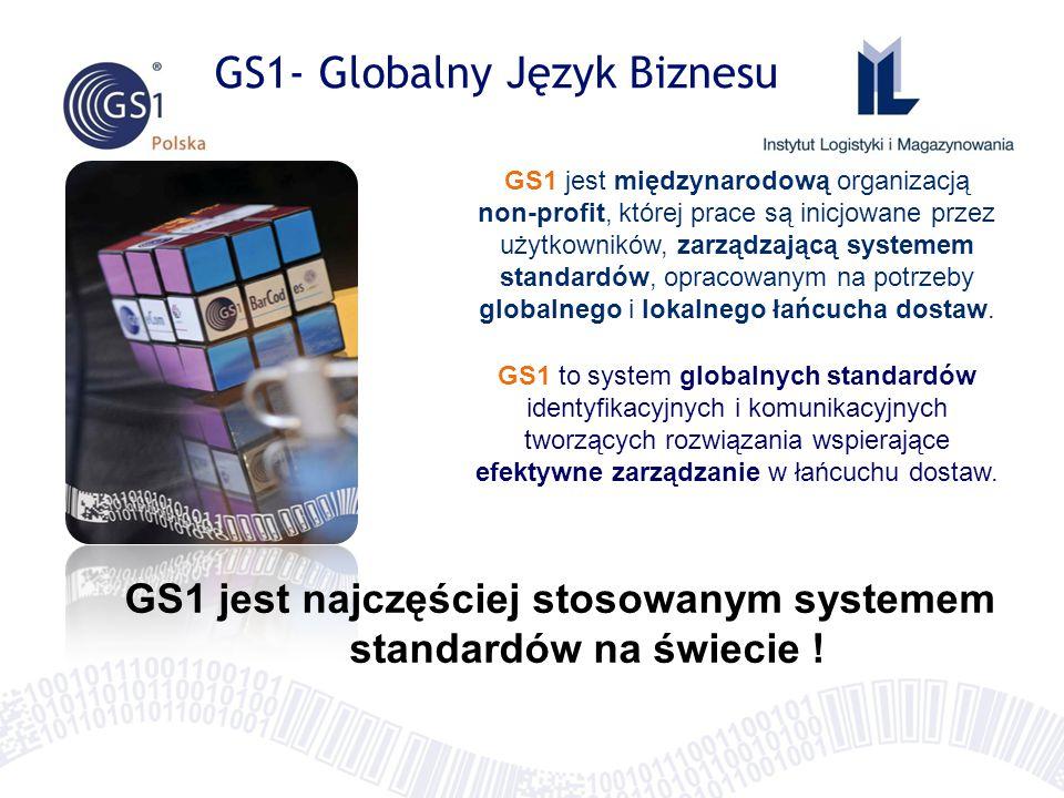 GS1 jest międzynarodową organizacją non-profit, której prace są inicjowane przez użytkowników, zarządzającą systemem standardów, opracowanym na potrzeby globalnego i lokalnego łańcucha dostaw.