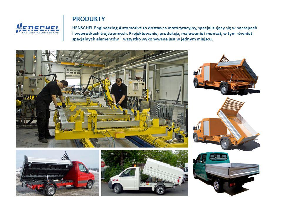 HENSCHEL Engineering Automotive to dostawca motoryzacyjny, specjalizujący się w naczepach i wywrotkach trójstronnych. Projektowanie, produkcja, malowa