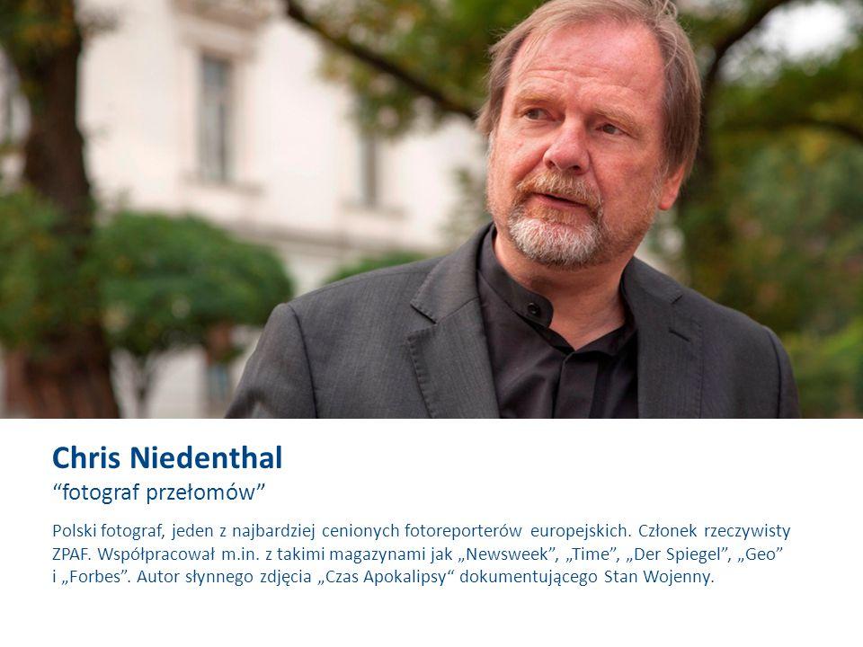 """Polski fotograf, jeden z najbardziej cenionych fotoreporterów europejskich. Członek rzeczywisty ZPAF. Współpracował m.in. z takimi magazynami jak """"New"""