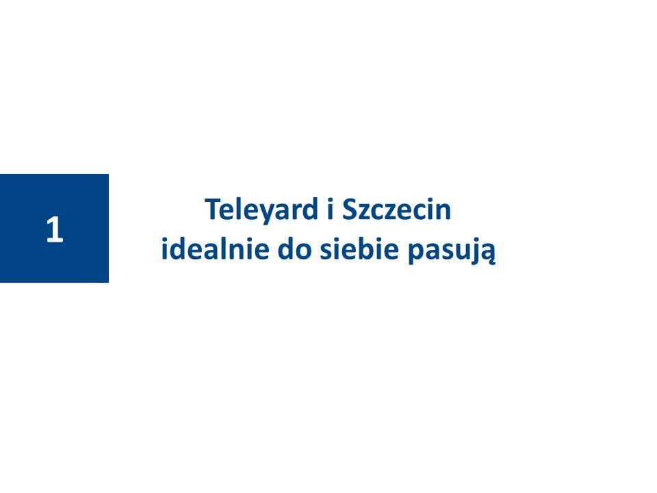 Teleyard i Szczecin idealnie do siebie pasują 1