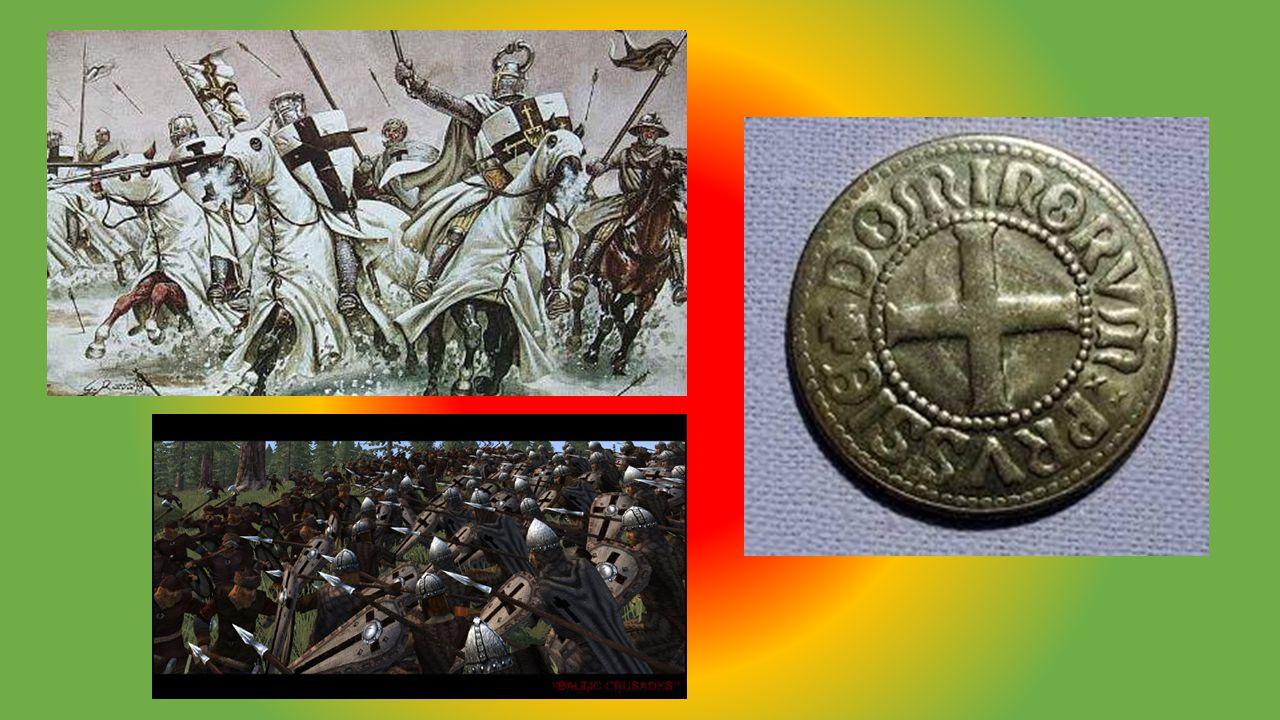 Krucjaty Krzyżackie Pierwsza krycjata-wyprawa wojenna, która zapoczątkowała okres zbrojnych krucjat, rozpoczętych przez Papieża Urbana II od apelu na