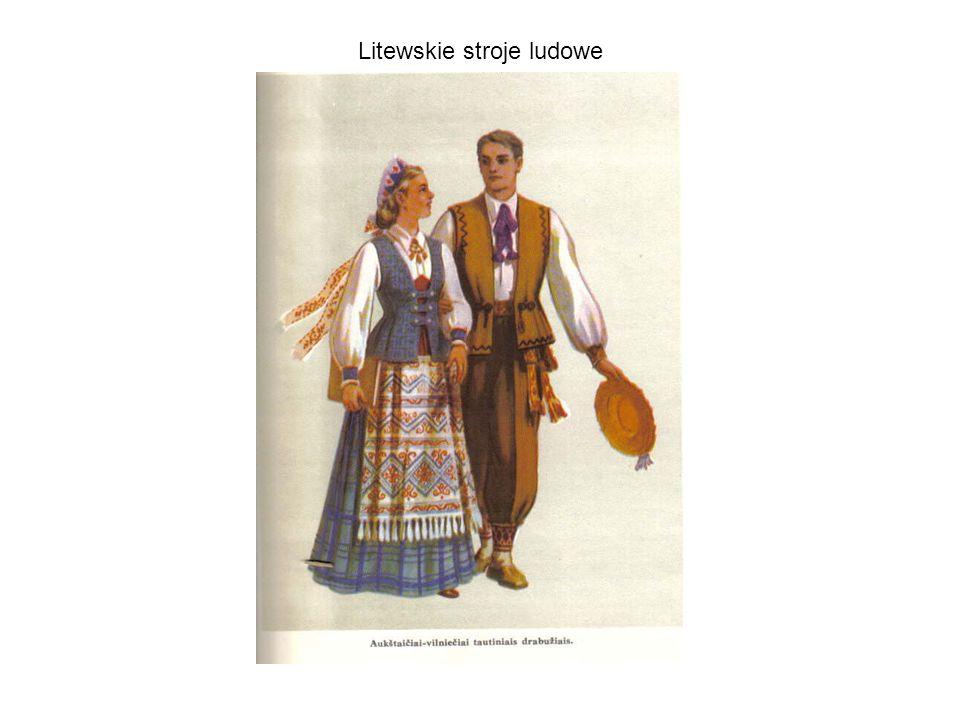 Litewskie stroje ludowe
