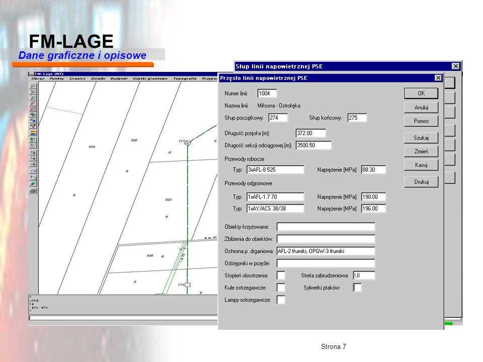 Strona 7 FM-LAGE Dane graficzne i opisowe