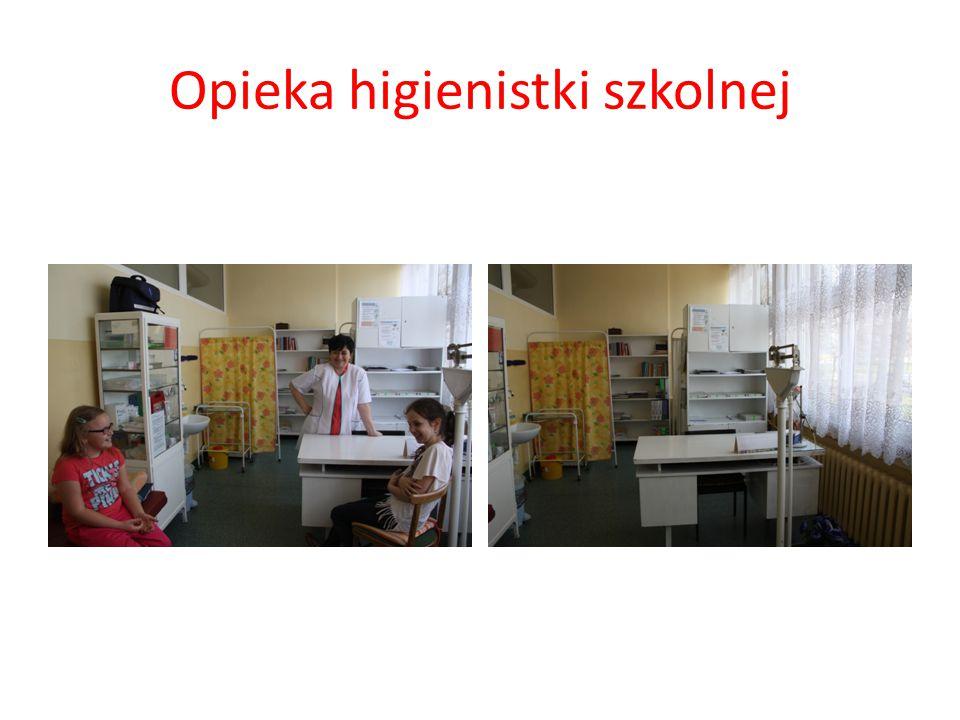 Opieka higienistki szkolnej