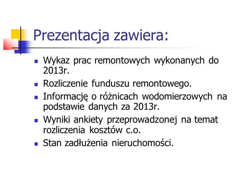 2004r.Malowanie klatek schodowych, 2004r. Wymiana okien PCV na klatkach schodowych, 2004r.