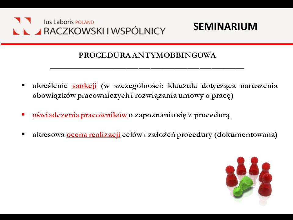 SEMINARIUM ZESPÓŁ DS.