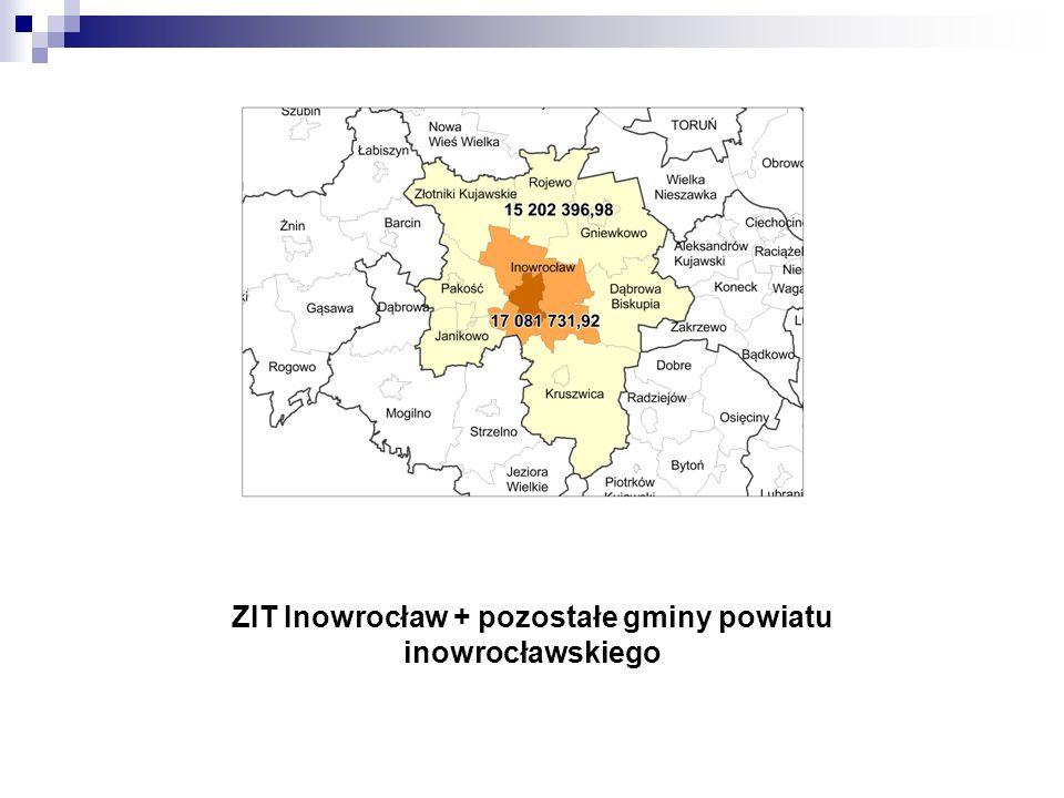 ZIT Inowrocław + pozostałe gminy powiatu inowrocławskiego