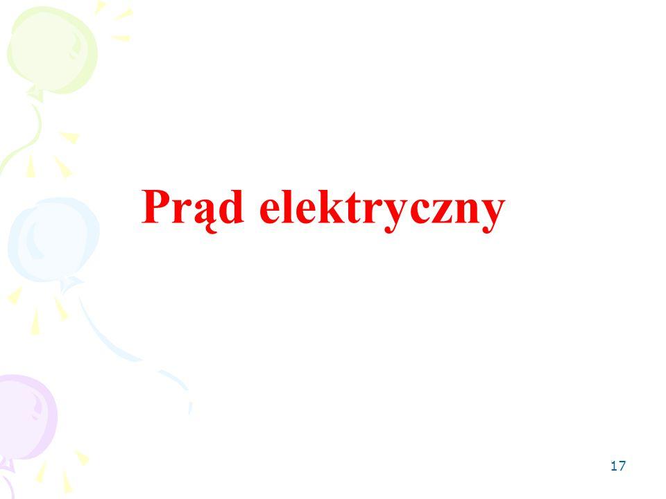 17 Prąd elektryczny