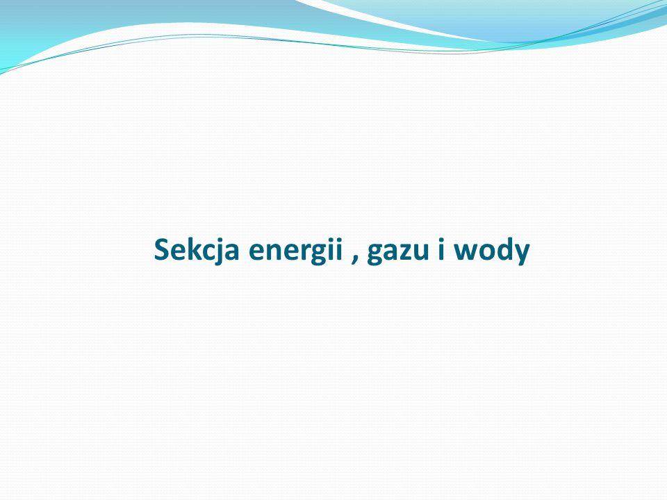 Sekcja energii, gazu i wody