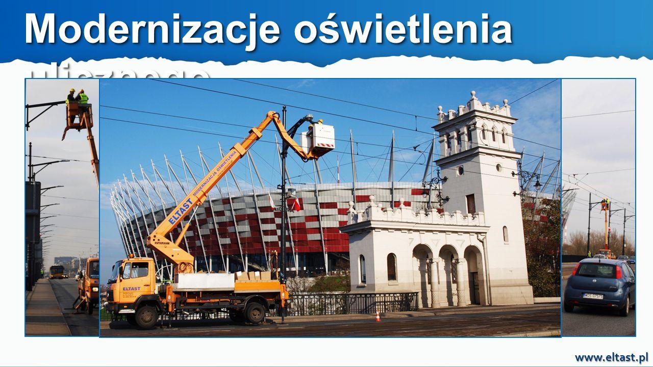 www.eltast.pl MODERNIZACJA OŚWIETLENIA ULICZNEGO JEST ŁATWA, PRZYJEMNA I NIC NIE KOSZTUJE.