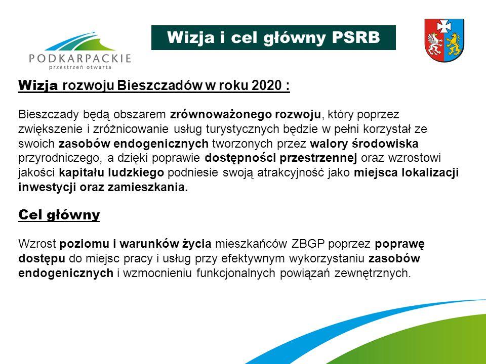 Turystyka i rekreacja - stworzenie z gospodarki turystycznej i przemysłu turystycznego jednej z podstawowych działalności gospodarczych Bieszczad.