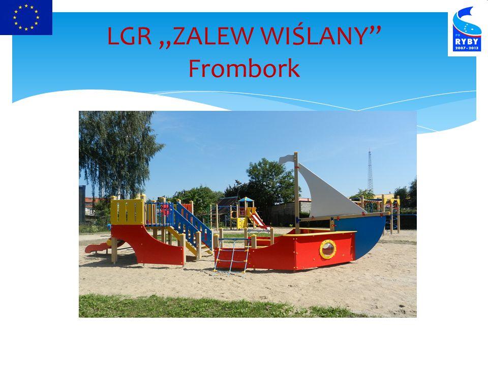 """LGR """"ZALEW WIŚLANY Frombork"""