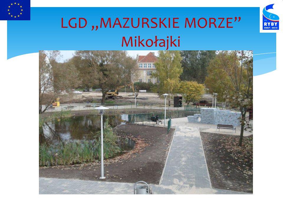 """LGD """"MAZURSKIE MORZE Mikołajki"""