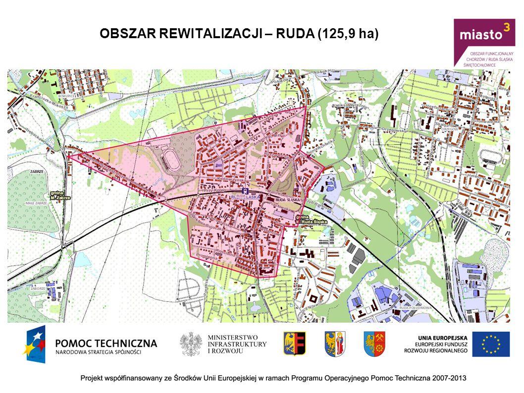 OBSZAR REWITALIZACJI – WIREK (72,772 ha)