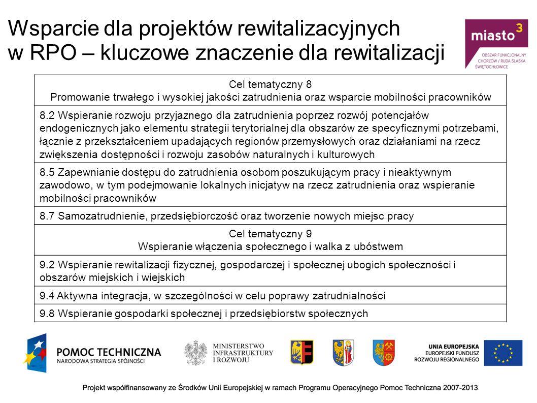 Cechy Lokalnego Programu Rewitalizacji Kompleksowość KomplementarnośćKoncentracja