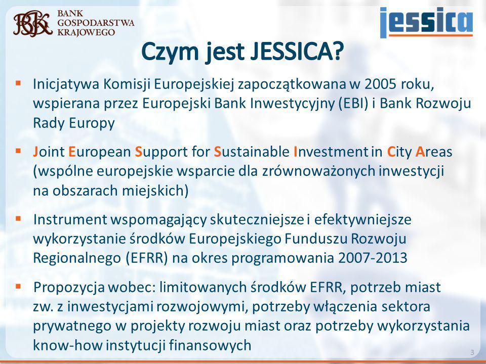  Inicjatywa Komisji Europejskiej zapoczątkowana w 2005 roku, wspierana przez Europejski Bank Inwestycyjny (EBI) i Bank Rozwoju Rady Europy  Joint Eu