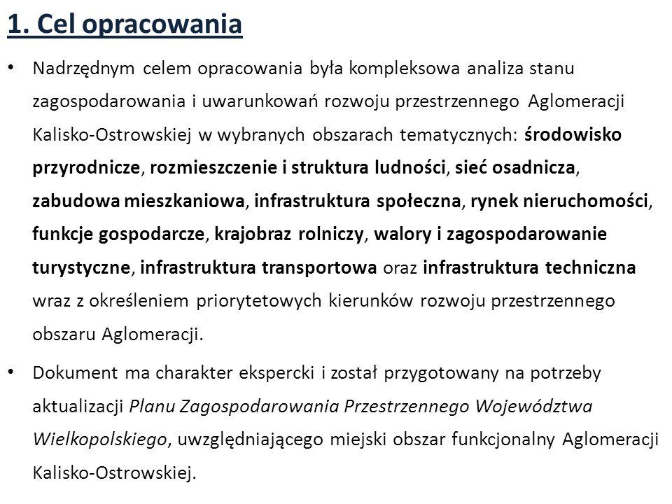 2.11. Infrastruktura transportowa Układ transportowy Aglomeracji Kalisko- Ostrowskiej