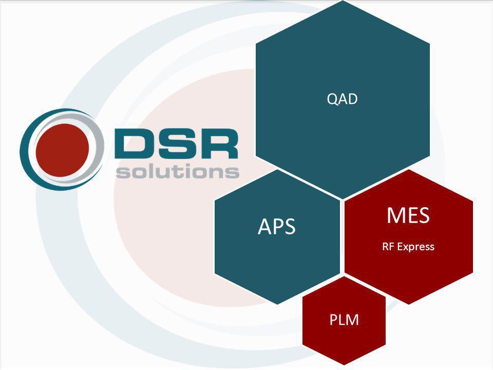 Nowa struktura handlowo-produktowa QAD MES Konsulting Wrożeniowy DSR Partnerzy DSR PLM APS Dział Handlowy DSR