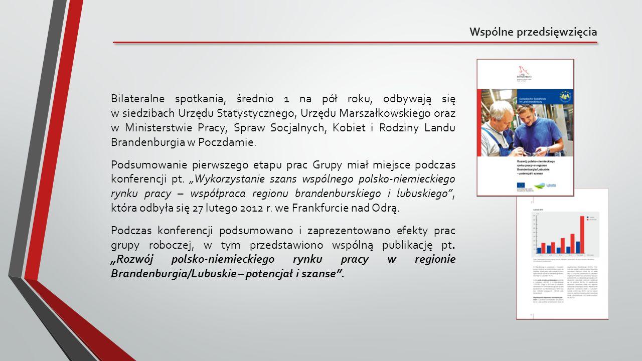 Wspólne przedsięwzięcia Bilateralne spotkania, średnio 1 na pół roku, odbywają się w siedzibach Urzędu Statystycznego, Urzędu Marszałkowskiego oraz w